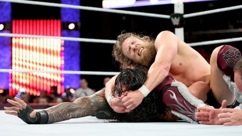 Roman Reigns, Daniel Bryan (source: WWE)