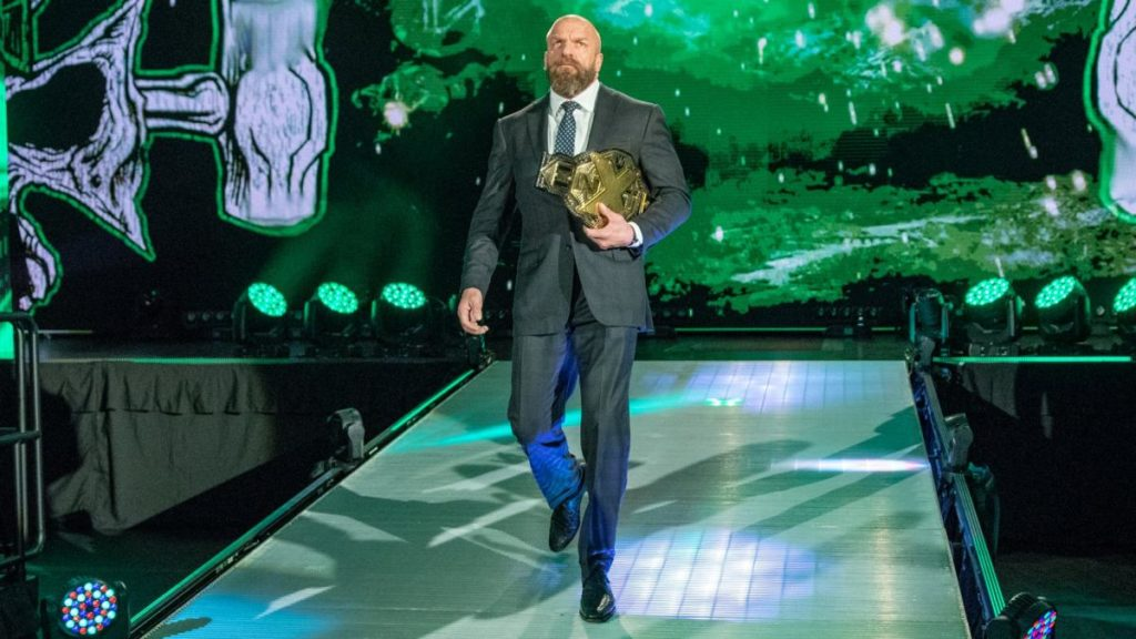 Triple H (source: WWE)