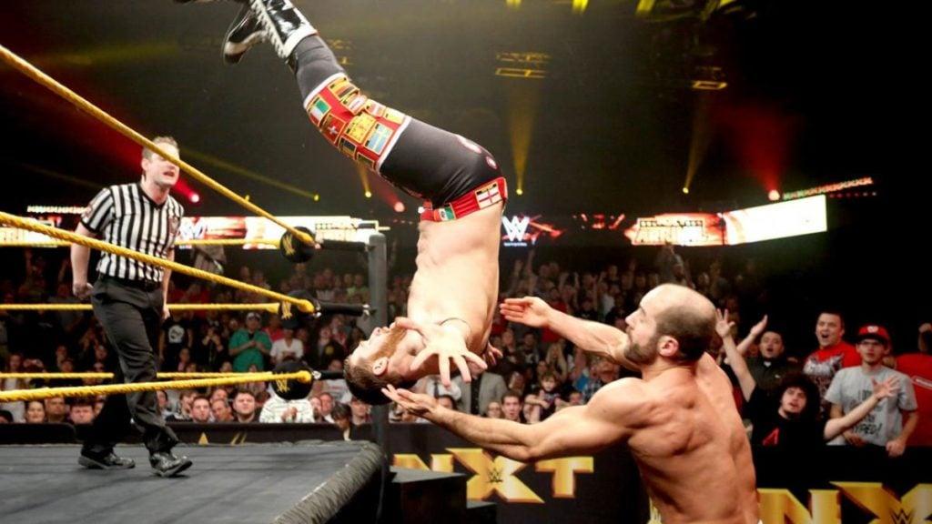 Sami Zayn, Cesaro (source: WWE)