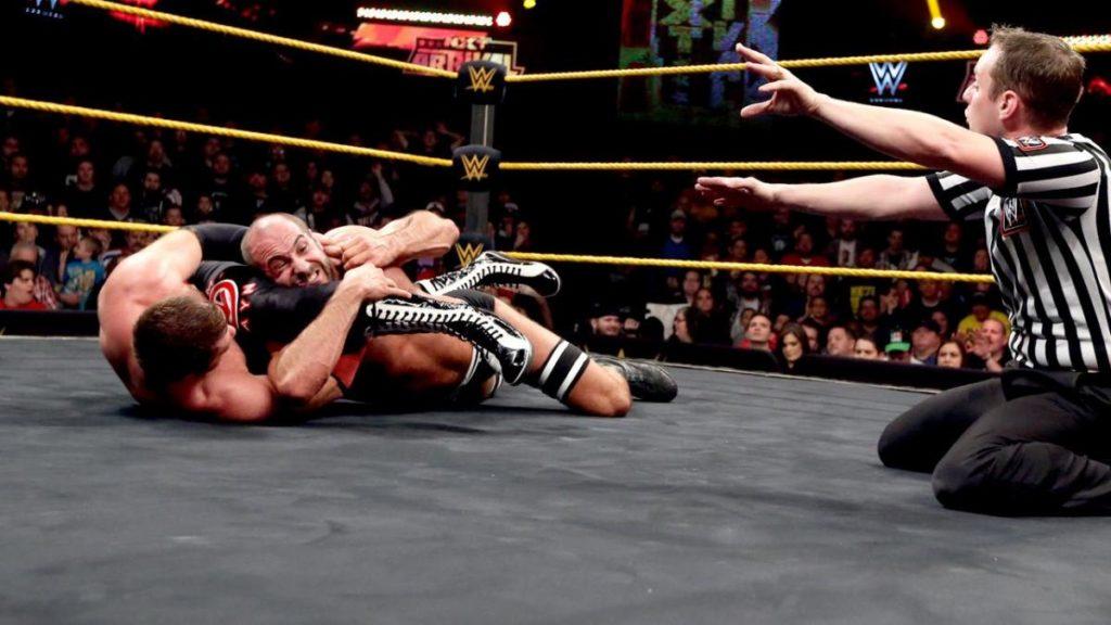 Image result for Sami Zayn vs cesaro takeover