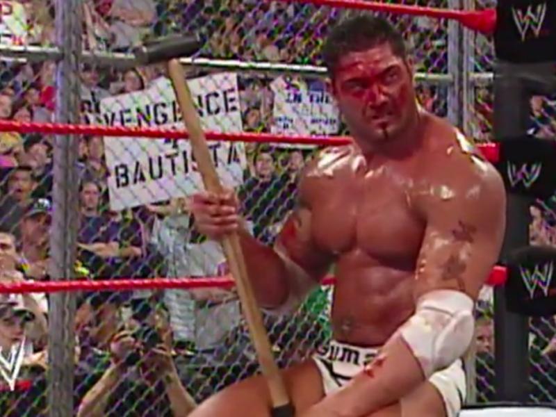 Batista at WWE Vengeance