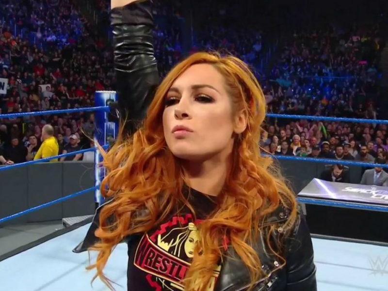 Becky Lynch on WWE Smackdown