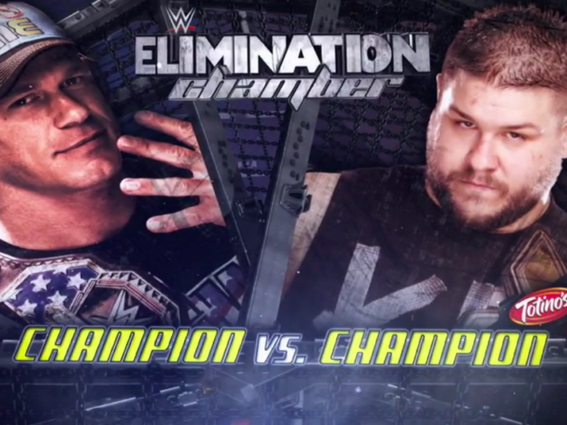 John Cena vs Kevin Owens at WWE Elimination Chamber 2015