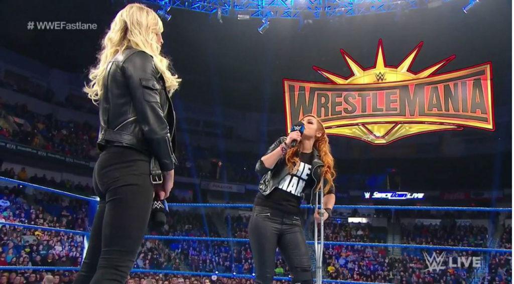 Charlotte Flair, Becky Lynch (source: WWE)