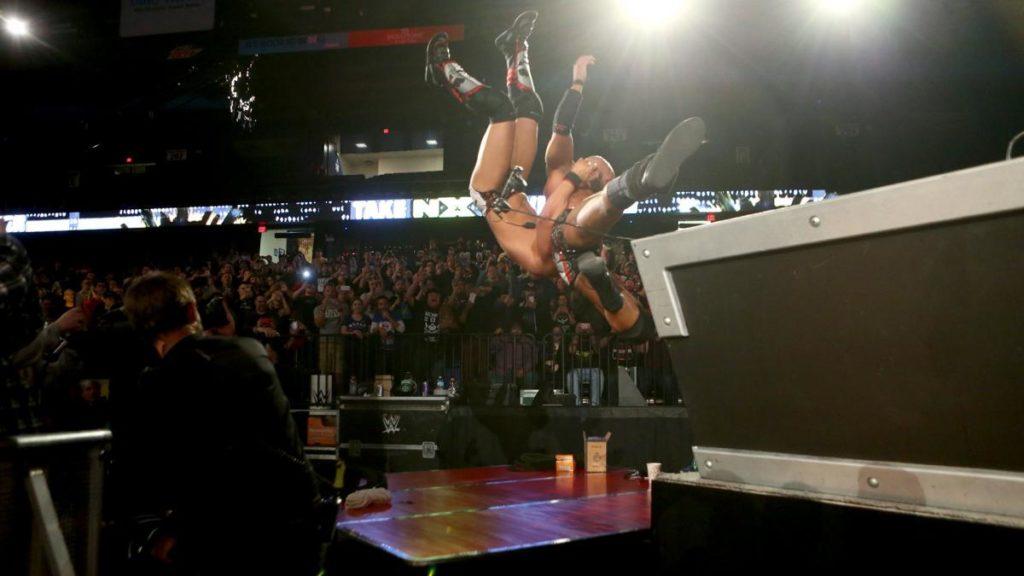 Gargano and Ciampa's friendship and partnership plummeting. (source: WWE)