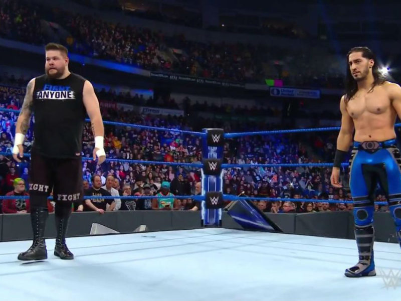 Kevin Owens and Mustafa Ali on WWE SmackDown