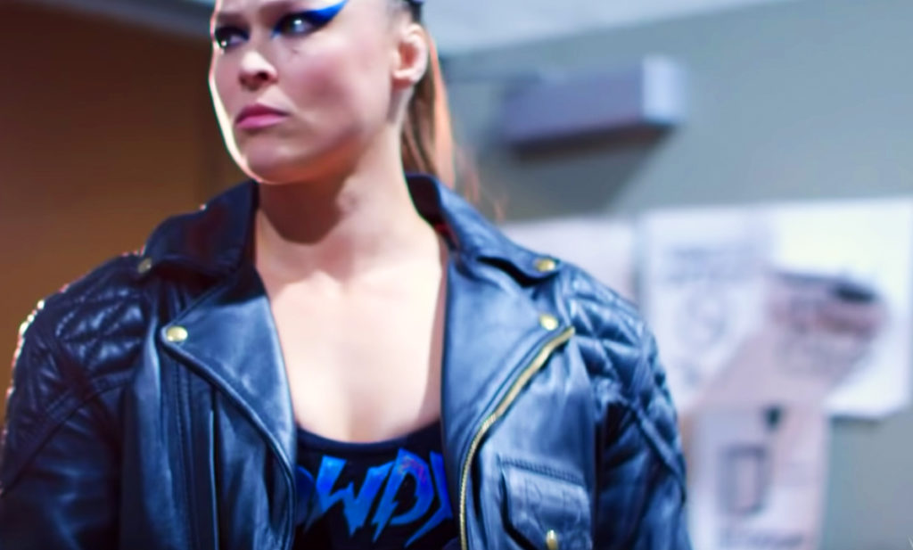 Ronda Rousey at WrestleMania 35