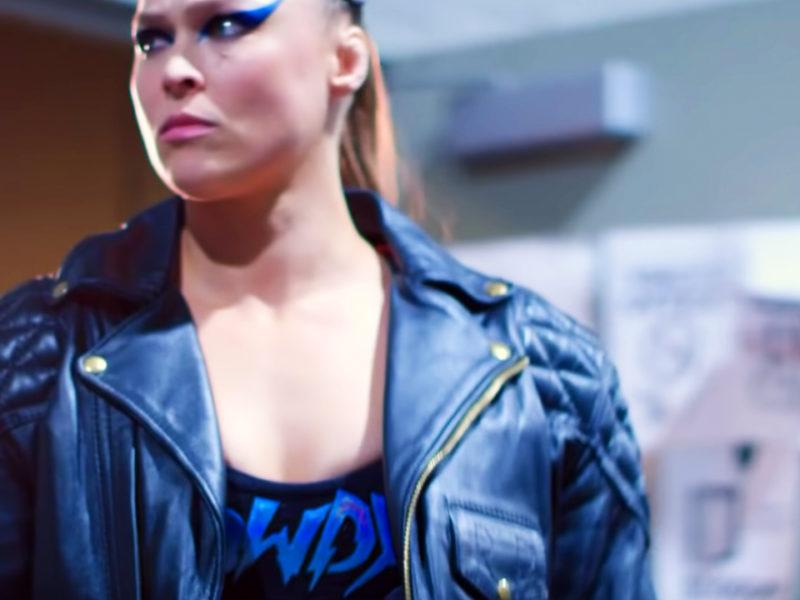 Ronda Rousey at WrestleMania 35