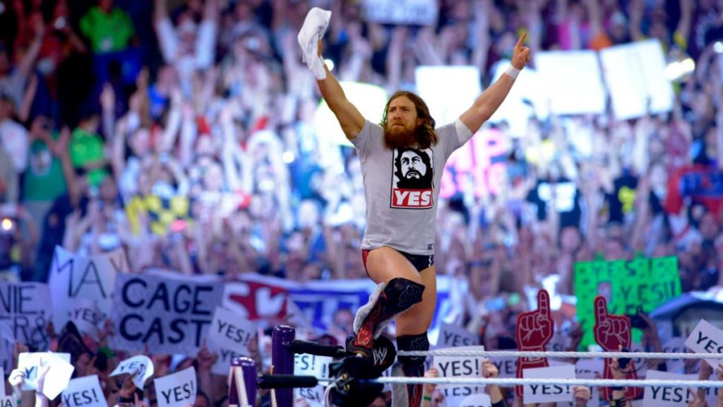 Daniel Bryan (source: WWE)