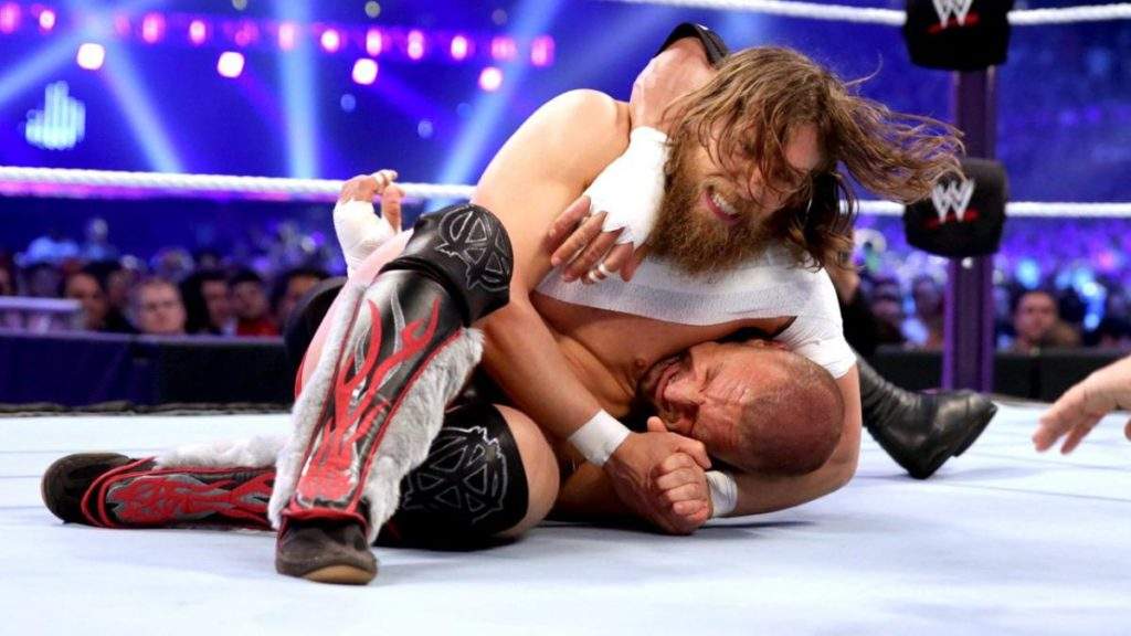 Daniel Bryan, Triple H (source: WWE)