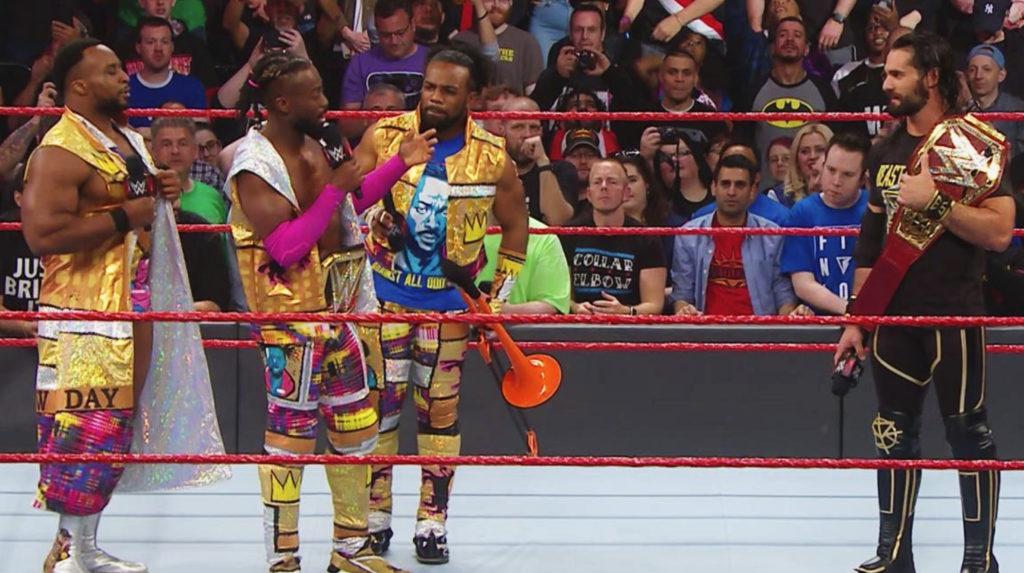 Kofi kingston as champ on RAW