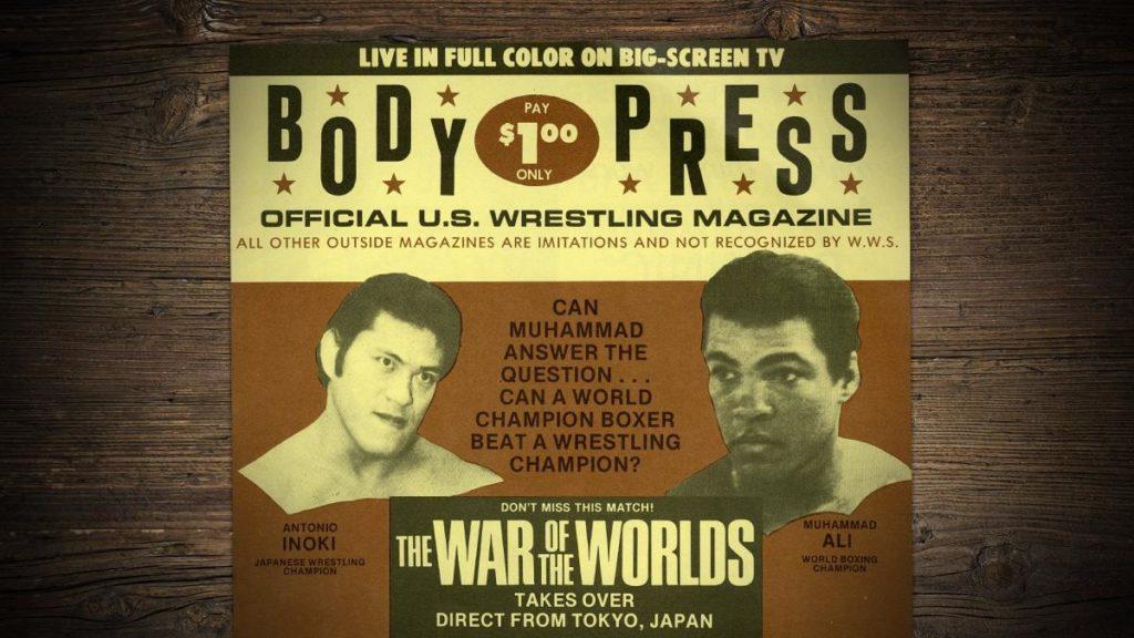 Antonio Inoki, Muhammad Ali (source: WWE)