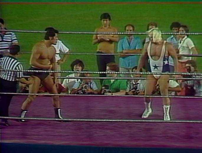 Antonio Inoki, Larry Sharpe (source: WWE)