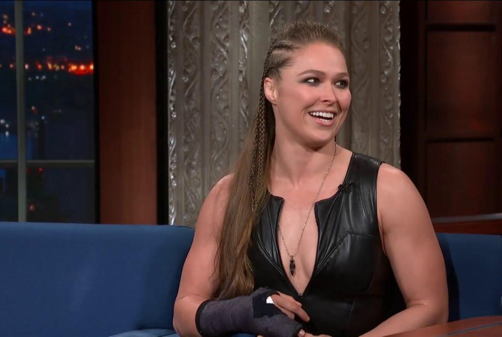 Ronda Rousey (source: CBS)