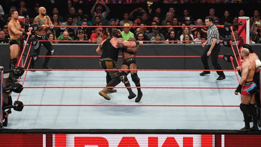 The Miz, Ricochet, Braun Strowman, Bobby Lashley, Cesaro, Samoa Joe (source: WWE)