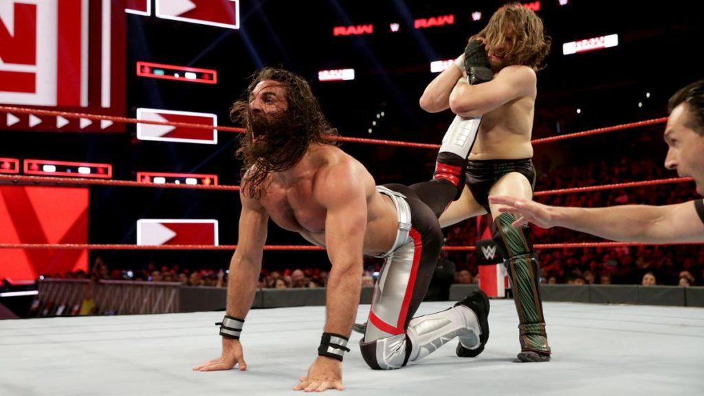 Seth Rollins, Daniel Bryan (source: WWE)