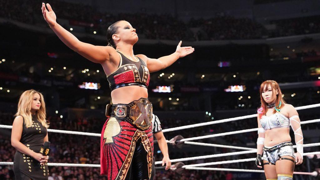 Shayna Baszler, Kairi Sane (source: WWE)
