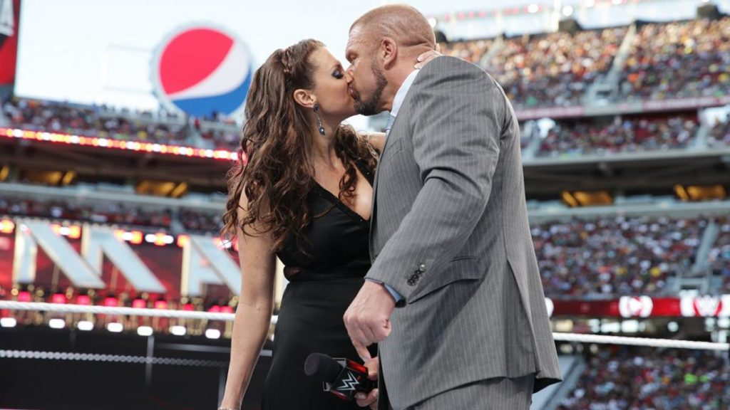 Stephanie McMahon, Triple H (source: WWE)
