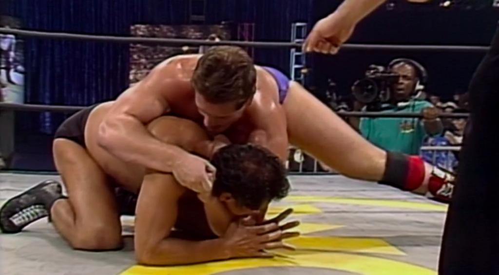 Antonio Inoki, Lord Steven Regal (source: WWE)