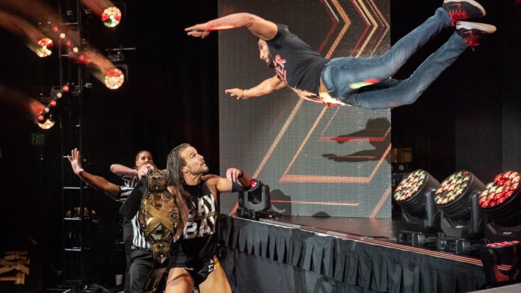 Adam Cole, Johnny Gargano (source: WWE)