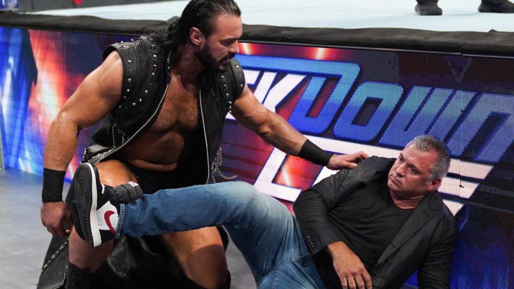 Drew McIntyre, Shane McMahon (source: WWE)