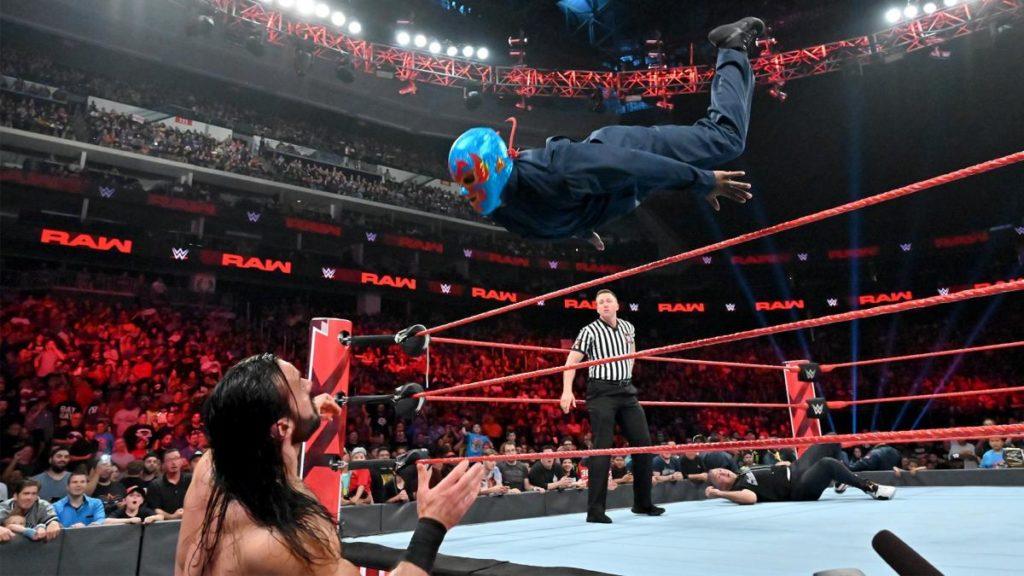 Drew McIntyre, Cedric Alexander, Shane McMahon (source: WWE)