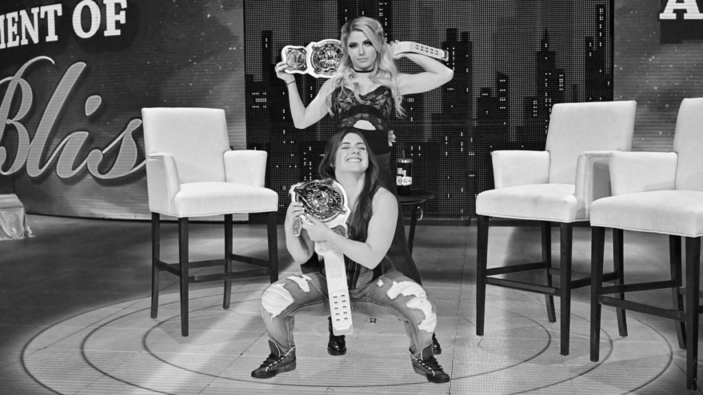 Alexa Bliss, Nikki Cross (source: WWE)