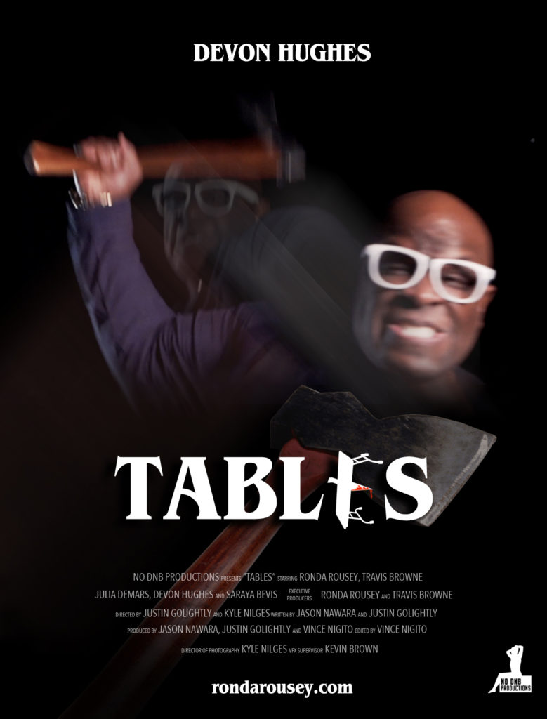 Devon Hughes' TABLES character poster