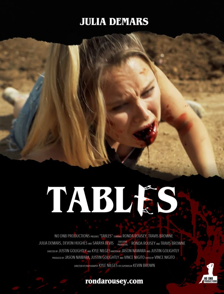 Julia DeMars' TABLES character poster