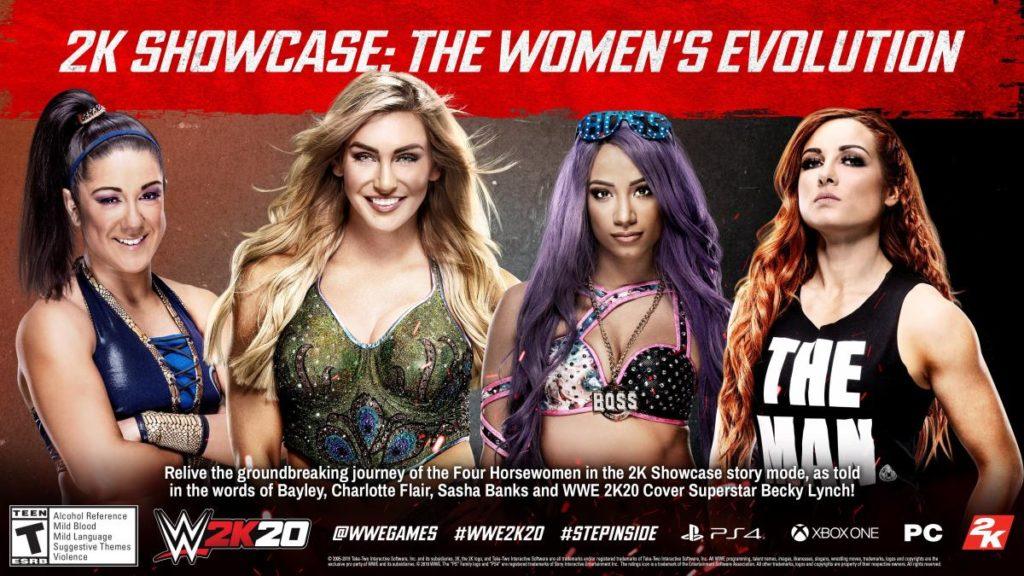 WWE 2K20 Showcase Mode (source: WWE.com)
