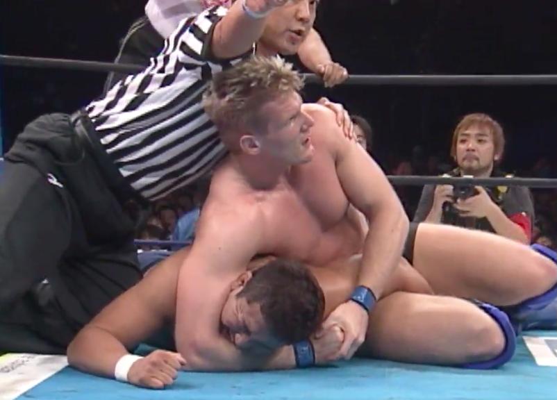 Josh Barnett vs. Yuji Nagata, NJPW 2003.
