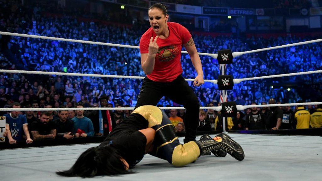 Bayley, Shayna Baszler (source: WWE.com)
