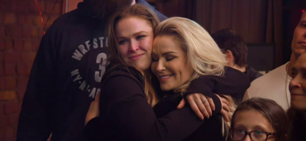 Ronda Rousey, Natalya (source: 'Total Divas')