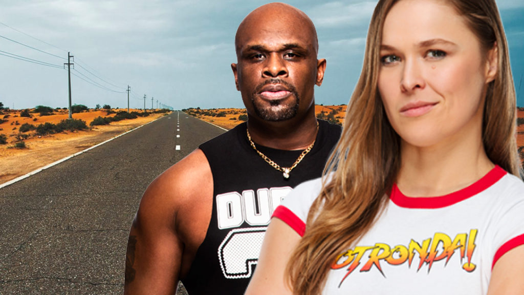 Ronda Rousey and D-Von Dudley