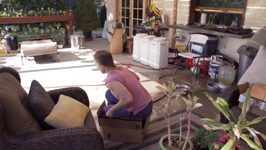 Ronda Rousey, trapped in a box a la No Doubt