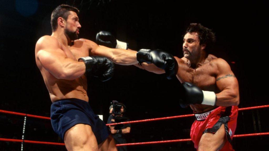 Steve Blackman vs. Marc Mero, Brawl for All (source: WWE)