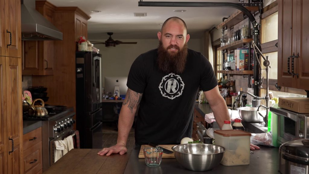 Travis Browne, in 'Ronda's (Quarantine) Kitchen'