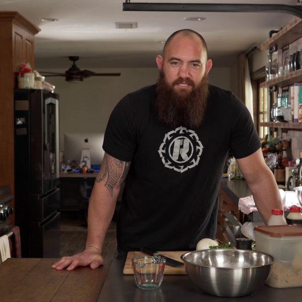 Travis Browne, in 'Ronda's (Quarantine) Kitchen'