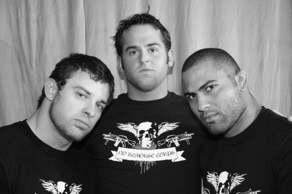 No Remorse Corps (Davey Richards, Roderick Strong, Rocky Romero) (source: ROH Wrestling)